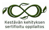 Kestävän kehityksen sertifioitu oppilaitos
